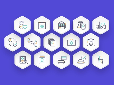 Certsy badges purple colours iconography icons certsy seek ux typography vector minimal logo duelofdoves designer design branding