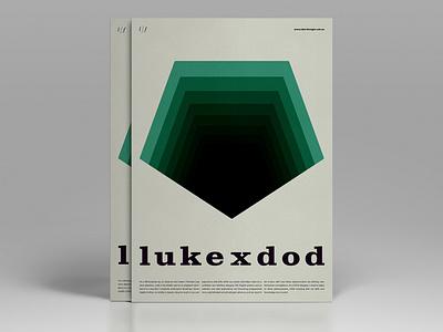 Typographic resume posters poster side hustle mockup typography vector logo minimal duelofdoves designer design branding