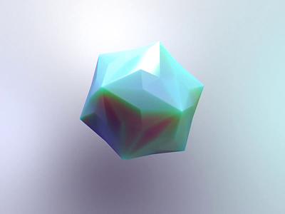 Happy Little Marble loop 3dart 3d asset hexagonal hexagon cube nortix concept fun animation illustration cinema 4d cinema4d c4d 3danimation 3d art 3d