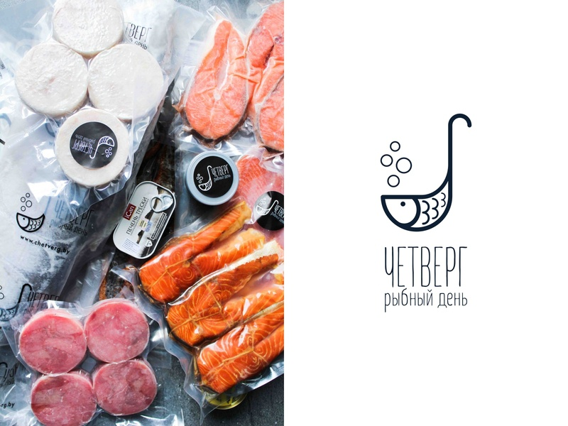Logo in life fishes fish logo logo inspirations logo design logo icon logodesign logo idea logo inspiration photo red steak seafood sea fish food design dribbble icon logotype logo