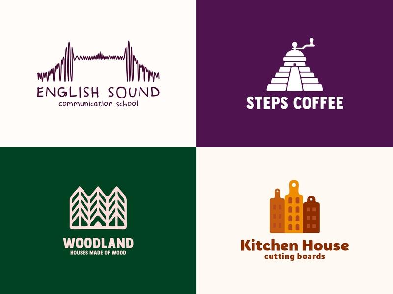 Building logos bridge logo sound steps stairs london kitchens house forests food building bridge boards sale logo sale color design dribbble icon logotype logo