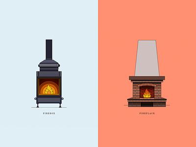 Icons fireplaces 🔥 store fire illustration icon fireart icon fire logo icon collection icon fire icon score vector branding line illustration color design dribbble icon logotype logo