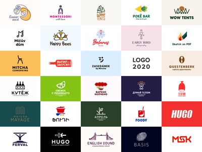 Logo 2020 happy fresh icons 2020 bestlogo best design 2020 best design food sale logo sale illustration color design dribbble icon logotype logo
