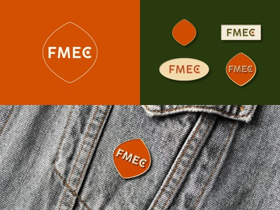 FMEC red farm seed agriculture agronomy agro identity farming identity design pin stickers typography branding illustration color design dribbble icon logotype logo