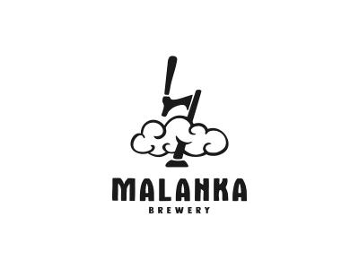 "Brewery ""Lightning"" beer faucet foam cloud lightning beer logo brewery logo brewery"