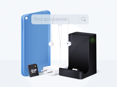 Key image for seeking accessories service