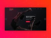 Web-site for Dancing School