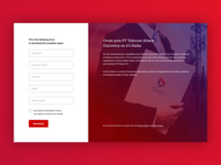 Premium Content download interface
