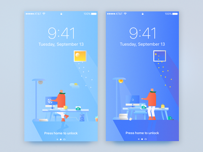 Phone Wallpaper : day&night - free download