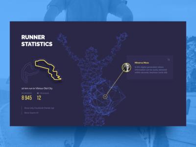 Digital marathon platform concept