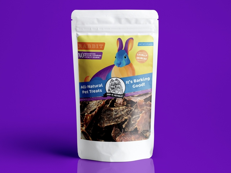 Packaging Design for a Local Pet Brand