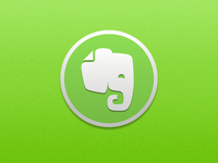 Evernote Replacement Icon icon yosemite evernote osx replacement