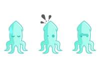 Three Squids
