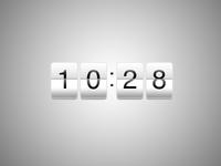 Countdown Widget PSD Asset
