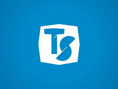 Tracing Style logo blue white
