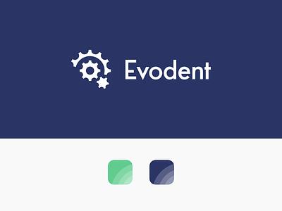 Evodent Branding vector design logo visual identity graphic design logo design branding
