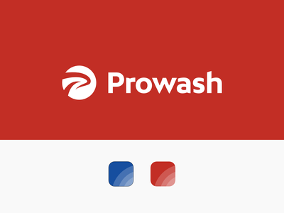 Prowash Branding design logo visual identity graphic design logo design branding