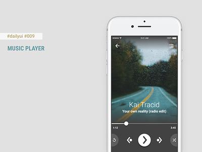 Daily UI #009 - Music Player + Figma Freebie dailyui 009 mobileui mobile app figma music player