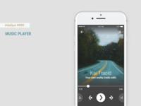 Daily UI #009 - Music Player + Figma Freebie