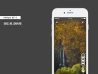 Daily UI #010 - Social Share + Figma Freebie