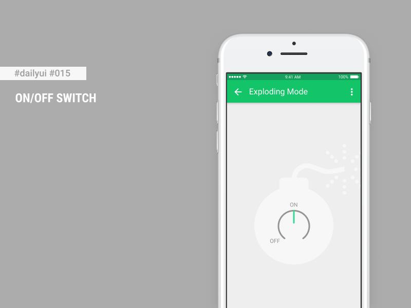 Daily UI #015 - ON/OFF Switch + Figma Freebie by Cristian