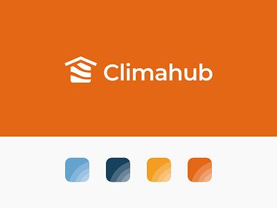 Climahub Branding design logo visual identity graphic design logo design branding