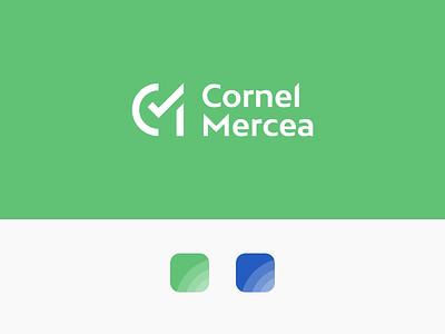 Cornel Mercea Branding design logo visual identity graphic design branding logo design