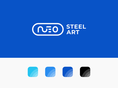 Neo Steel Art Branding 01 design logo visual identity graphic design logo design branding