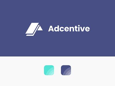 Adcentive Branding logo design visual identity graphic design logo design branding