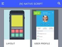 NativeScript Quick Start Framework