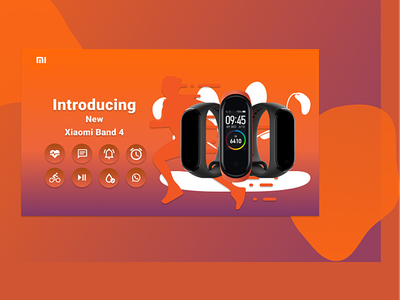 Xiaomi band 4 fit band product intro bands xiaomi fit band product design product intro m4 m4 band xiaomi band fit band