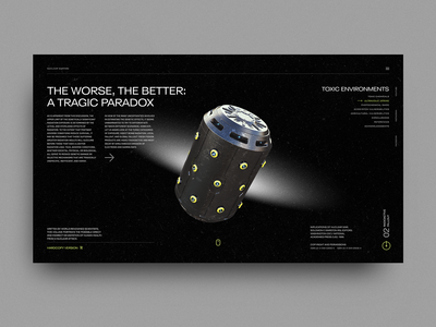 Nuclear War Consequences - Online Book concept