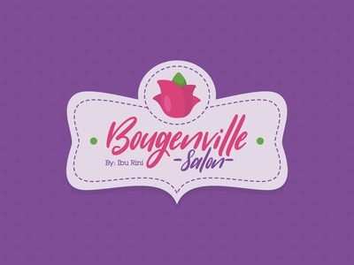 Bougenville Salon Logo