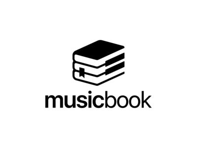 Music Book Logo Concept