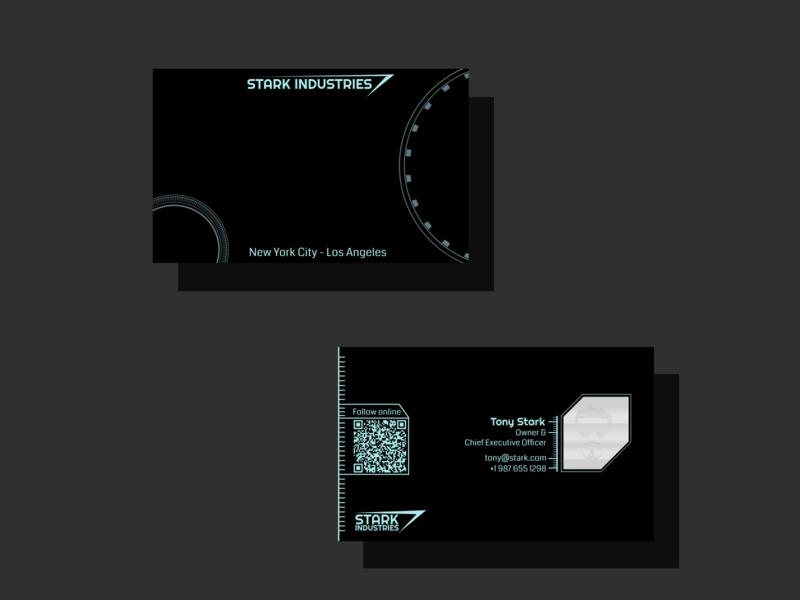 Weekly Warm-up - 2 - Superhero Businesscard fun weeklywarmup businesscard card