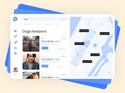zookeepers webapp concept website ui
