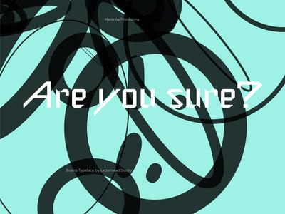 Processing + Bramb Typeface
