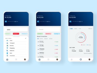 E-Wallet app ux ui figma product design mobile app wallet e-wallet