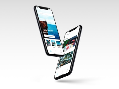 Placehunter - Mobile App UX/UI minimal design concept mobile app app ui ux