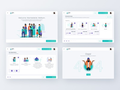 African Rainbow Life — 02 insurance app insurance light ui cleanui product design branding illustraion app app design tablet app tablet design uxui design ux design ui