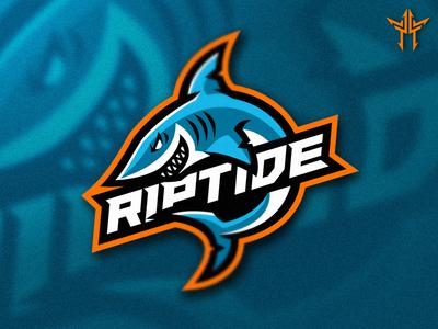 Riptide Mascot Logo