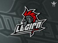 Legion Mascot Logo