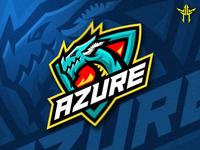 Azure Mascot Logo
