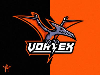 Vortex Mascot Logo