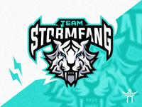 Stormfang Mascot Logo