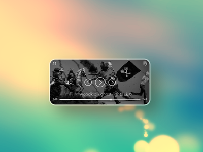 Simple Music Player UI