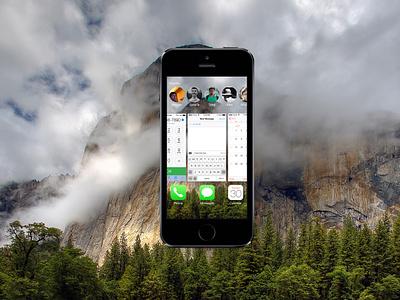 iOS 8 Recents[freebie] ios8 app recent multitask apple freebie