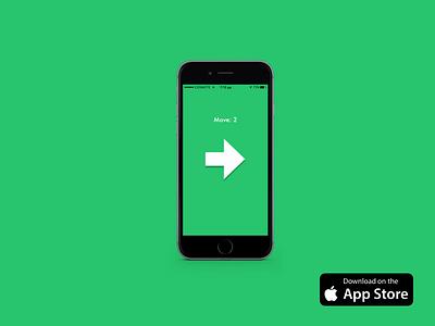 The Swipr ios app store app design simple ux ui game