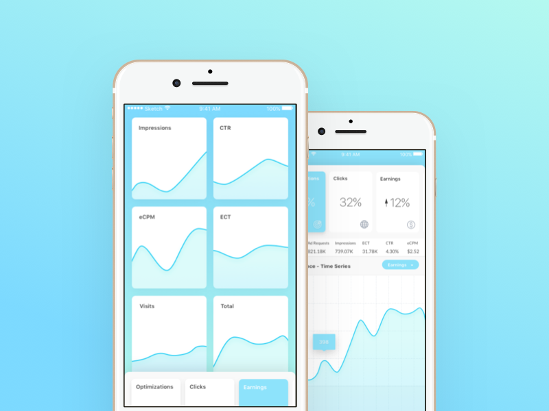 Analytics Dashboard concept app ux ui ios
