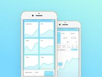 Analytics Dashboard concept app ux ui ios